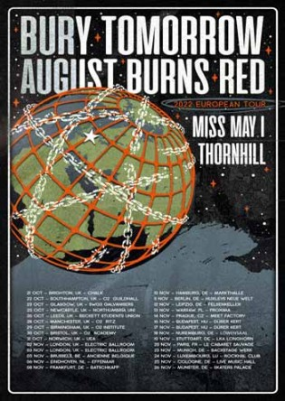 Miss May I support to Bury Tomorrow